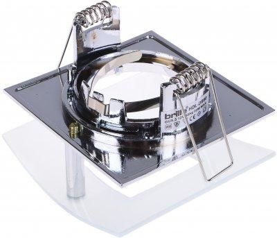 Світильник точковий Brille HDL-DS 60 CHR/Brown (163901)