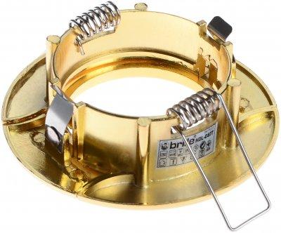 Світильник точковий Brille HDL-DS 77 SB/G (163325)