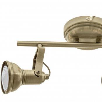 Світильник спотовий Brille HTL-196/2 GU10 AB (26-759)