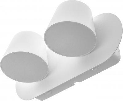 Підсвітка Brille AL-508/2х6W LED WH (27-008)