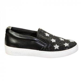 Сліпони GUESS Black Stars розмір 40.5 устілка 26.5 см чорний (SW-0075)