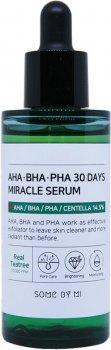 Сыворотка для лица Some By Mi AHA/BHA/PHA Pha 30 Days Miracle Serum для проблемной кожи 50 мл (8809525242764)