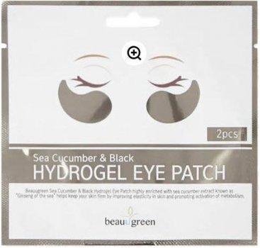 Патчі для очей Beauugreen Sea cucumber&Black Hydrogel Eye patch 1 пара (8809389031573)
