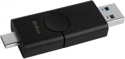 Kingston DataTraveler Duo 64GB USB 3.2 + Type-C (DTDE/64GB)