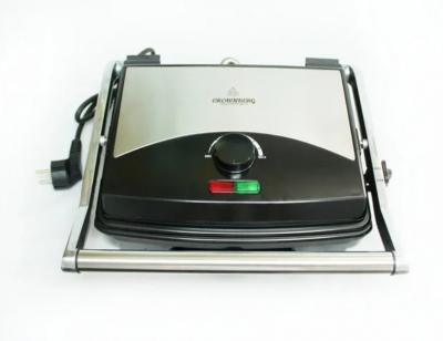 Електрогриль Crownberg CB-1067 притискної з терморегулятором 2000Вт