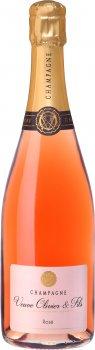 Шампанське Champagne Veuve Olivier & Fils — Rose- Brut рожеве брют 0.75 л 12% (3760308020083)
