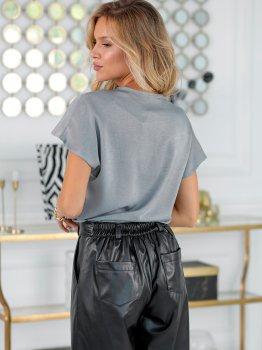 Блузка New Fashion 377 Серая