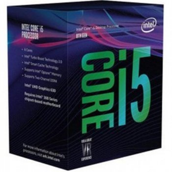 Процесор Intel Core i5 8400 2.8 GHz (8MB, Coffee Lake, 65W, S1151) Box (BX80684I58400)
