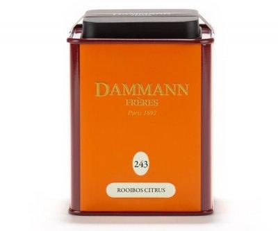 Чай Ройбуш Dammann Freres 243 - Цитрус ж/б 100 г