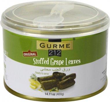Сарма Gurme 212 фаршированные виноградные листья с рисом 400 г (191822000610)