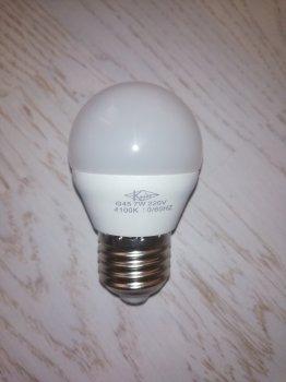 Светодиодная лампа Квант 7W E27 G45 4100K