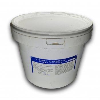 Мастика покрівельна бутилкаучукова Aqua Protect сіра 10 кг (64020)