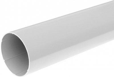 Водостічна труба (ринва) BRYZA 63 мм / 3 м Білий (60-121)