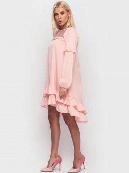 Плаття Santali 3906 Персикове