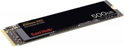 SanDisk Extreme PRO 500GB NVMe M. 2 2280 PCIe 3.0 x4 3D NAND TLC (SDSSDXPM2-500G-G25)