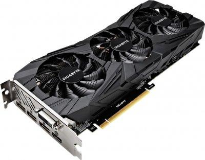Gigabyte PCI-Ex GeForce GTX 1080 Ti Gaming OC Black 11GB GDDR5X (352bit) (1518/11010) (DVI, HDMI, 3 x DisplayPort) (GV-N108TGAMINGOC BLACK-11GD) Refurbished