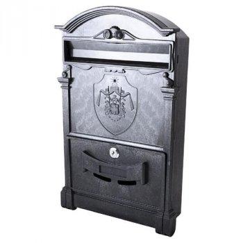 Почтовый ящик Vita герб Англии (черный) (PO-0003)