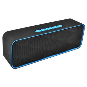Bluetooth-колонка LUX SC-211, c функцією speakerphone, радіо, синій