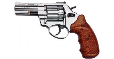 """Револьвер флобера STALKER 3"""" Нікель. Матеріал рукояті - пластик (3880.00.54)"""