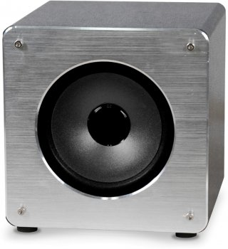 Акустическая система Omega OG61A Aluminum Bluetooth V4.2 TWS Silver (OG61A)