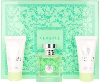 Набор для женщин Versace Versense Туалетная вода 50 мл + Лосьон для тела 50 мл + Гель для душа 50 мл (8011003847525)