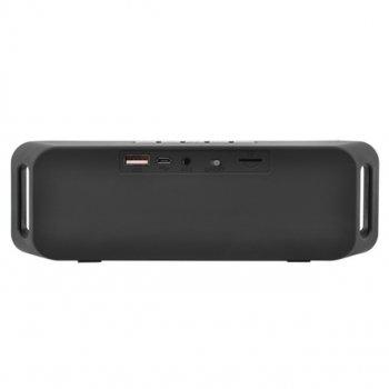 Bluetooth-колонка SC-208, c функцією speakerphone, радіо, сірий