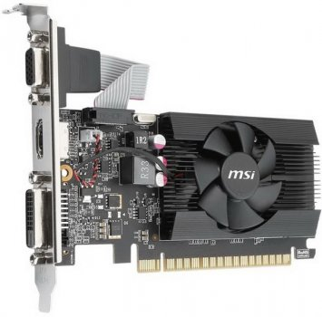GF GT 710 2GB GDDR3 LP MSI (GT 710 2GD3 LP)