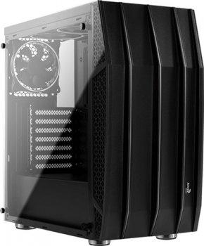 Корпус Aerocool Klaw RGB Tempered Glass Black