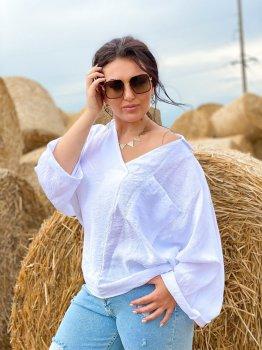Блуза DNKA с41491/1 Біла