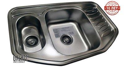 Кухонная мойка Galati Rampa 1.5C Textura (9674)