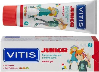Гель-паста для детей Dentaid Vitis Junior 75 мл (8427426052765)