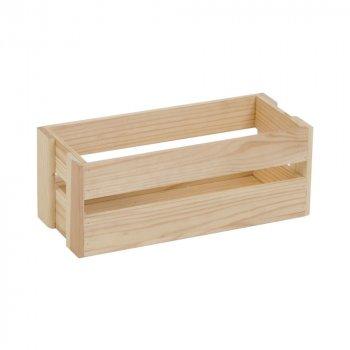Ящик рейковий з дерева серії Аігу (10х11х26 см) WoodMood