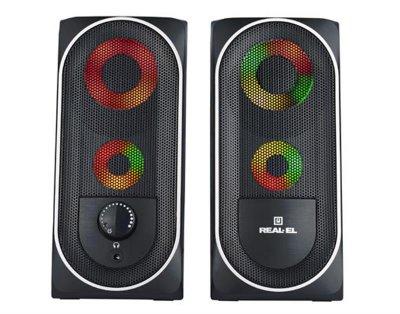 Акустична система REAL-EL S-110 Black