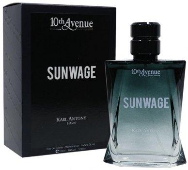 Туалетная вода для мужчин Karl Antony 10Th Av. Sunwage аналог Dior Sauvage 100 мл (3282441671682)