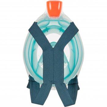 Маска для снорклинга (подводного плавания) Subea Easybreath 500 S/M Dark Blue