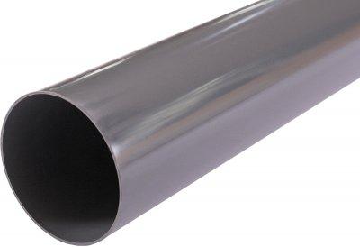 Труба водостічна Profil 75/4 м Графітова (5906775631645)