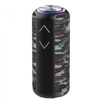 Музична колонка Hopestar P30 pro портативна бездротова Bluetooth - Переносна музична блютуз акустична система з функцією TWS + водонепроникний корпус для вулиці і вдома, Camu-green