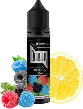 Рідина для електронних сигарет Chaser Triple Razz 6 мг 60 мл (Три сорти малини + лимон) (CR9434)