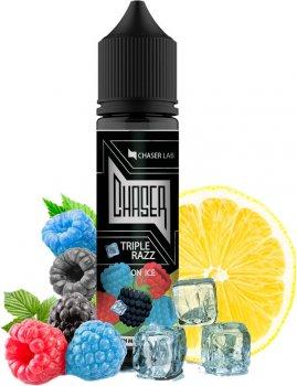 Рідина для електронних сигарет Chaser Triple Razz Ice 6 мг 60 мл (Три сорти малини + лимон + лід) (CR9435)
