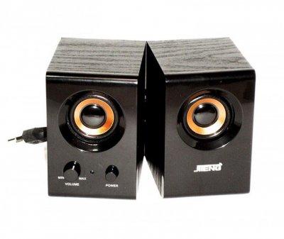 Активна акустична система, Jiteng D99A, комп'ютерні колонки з підсилювачем, і, аудіосистема (1002866-Black-0)