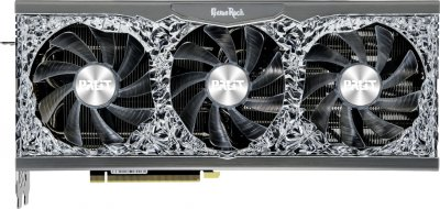 Palit PCI-Ex GeForce RTX 3080 GameRock OC 10GB GDDR6X (320bit) (1440/19000) (HDMI, 3 x DisplayPort) (NED3080H19IA-1020G)