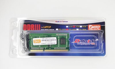 Оперативна пам'ять DATO DDR3 4GB 1600 MHz CL11 SODIMM (DT4G-1600SD)