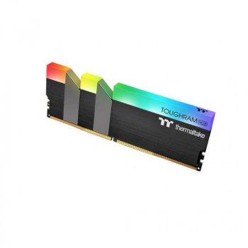 Модуль пам'яті для комп'ютера DDR4 16GB (2x8GB) 4600 MHz Toughram Black RGB ThermalTake (R009D408GX2-4600C19A)