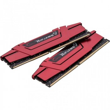 Модуль пам'яті для комп'ютера DDR4 32GB (2x16GB) 3400 MHz RipjawsV G. Skill (F4-3400C16D-32GVR)