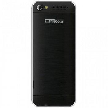 Мобильный телефон Maxcom MM136 Black-SIlver (5908235973524)