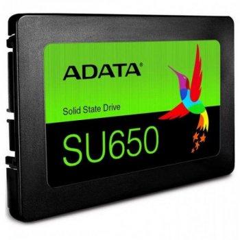 """Накопичувач SSD 2.5"""" 120GB ADATA (ASU650SS-120GT-R)"""