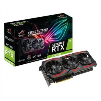 Відеокарта ASUS GeForce RTX2060 SUPER 8192Mb ROG STRIX OC EVO V2 GAMING (ROG-STRIX-RTX2060S-O8G-EVO-V2-GAMING)