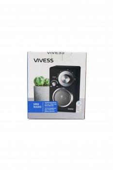 Радиоприёмник vivess черный K10-110810