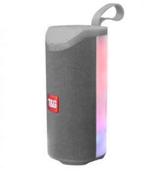 Bluetooth-колонка T-Sound TG169, c функцией speakerphone, радио, Gray