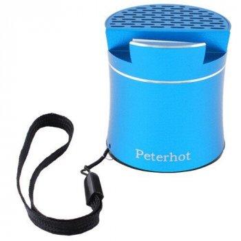 Bluetooth-колонка музичний шейкер Peterhot PTH-307 Блакитна